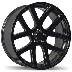 REPLIKA R161A WHEEL - GLOSS BLACK 22''