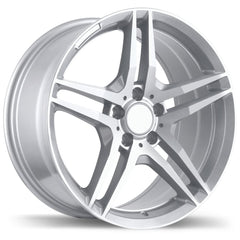 REPLIKA R170 WHEEL - SILVER 17''