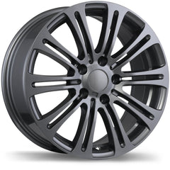 REPLIKA R172 WHEEL -  GUNMETAL 17''