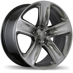 REPLIKA R176 WHEEL - HYPER SILVER DARK 20''