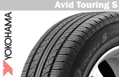 YOKOHAMA TOURING S 185/70R14 87S SUMMER TIRE
