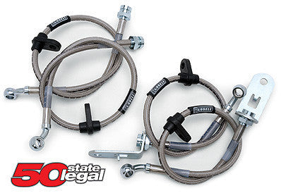 RUSSELL STAINLESS STEEL BRAKE LINES - ACURA INTEGRA 94-01