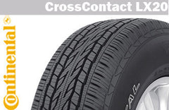 CONTINENTAL CROSSCONTACT LX20 255/50R19 107H XL SUMMER TIRE