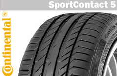 CONTINENTAL SPORTCONTACT 5 225/45R18 91V SUMMER TIRE