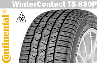 CONTINENTAL WINTERCONTACT TS 830P 195/55R16 87H WINTER TIRE