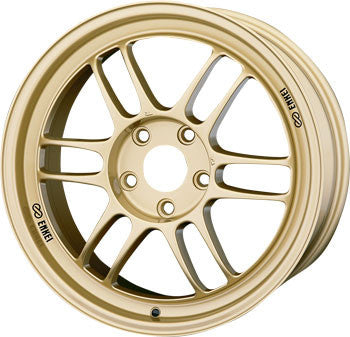 ENKEI RPF1 LIGHTWEIGHT RACING WHEEL - GOLD 17''
