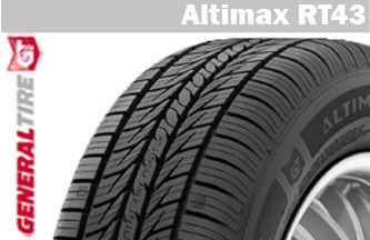 GENERAL ALTIMAX RT43 225/50R17 94T SUMMER TIRE