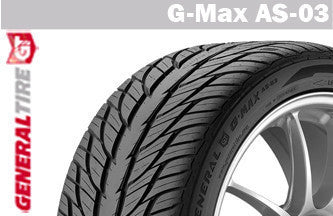 GENERAL G-MAX AS-03 215/45R17 91W XL SUMMER TIRE