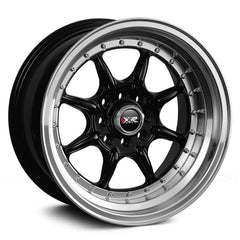 XXR 002 WHEEL - BLACK W/ POLISHED LIP 16''