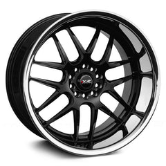 XXR 526 WHEEL - BLACK W/ POLISHED LIP 20''