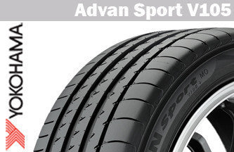 YOKOHAMA ADVAN SPORT V105 235/40R18 95Y XL SUMMER TIRE