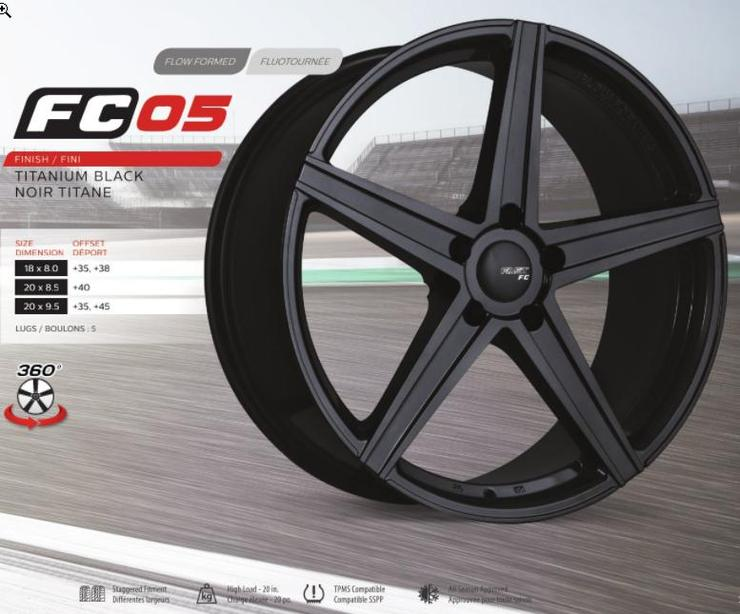 FAST COMPETITION FC05 LIGHTWEIGHT WHEEL SERIE