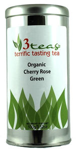 Organic Cherry Rose Green