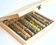 Load image into Gallery viewer, Tea Sampler Gift Set, 10 Test Tubes of Loose Leaf