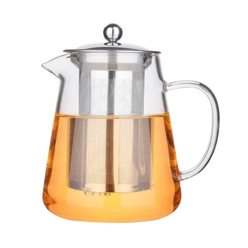 Glass Tea Pot 32 oz/950ml High Borosilicate Teapot with 304 Stainless Steel Infuser Perfect for Loose Leaf Tea Flower Tea Tea Bag