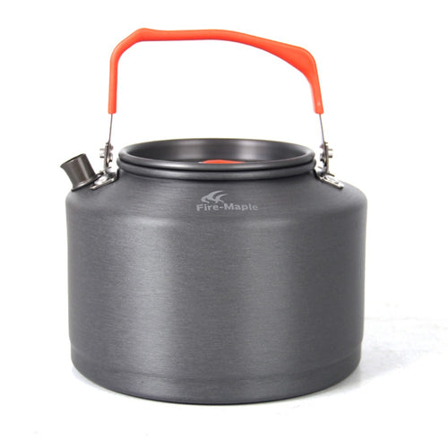 1.5L Outdoor Camping Picnic Tea Pot Kettle with Tea Filter + Mesh Bag