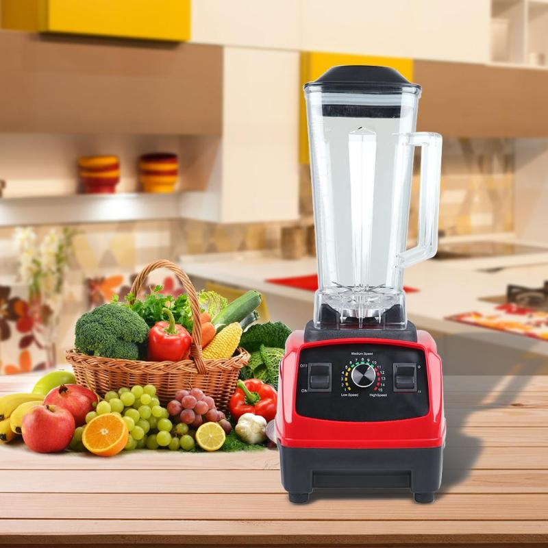 1800W Semi-automatic Multi-functional Juice Blender Soybean Milk Mixer Juicer Food Processor Ice Smoothie Fruit Blender