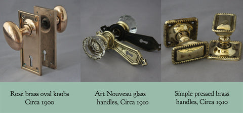 Edwardian door handles