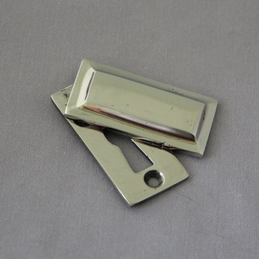 Nickel Art Deco Escutcheons