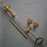 brass edwardian mechancal front door bell pull