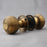 Brass Victorian Beehive Door Knobs