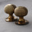 Heavy Brass Beehive Door Knobs