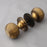 Brass Beehive Door Handles
