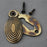 Beehive Oval Escutcheon Antique Brass Finish