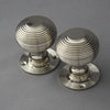 Beehive Nickel Door Handles