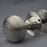 Period Beehive Nickel Door Handles
