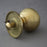 Beehive Brass Front Door Centre Pull