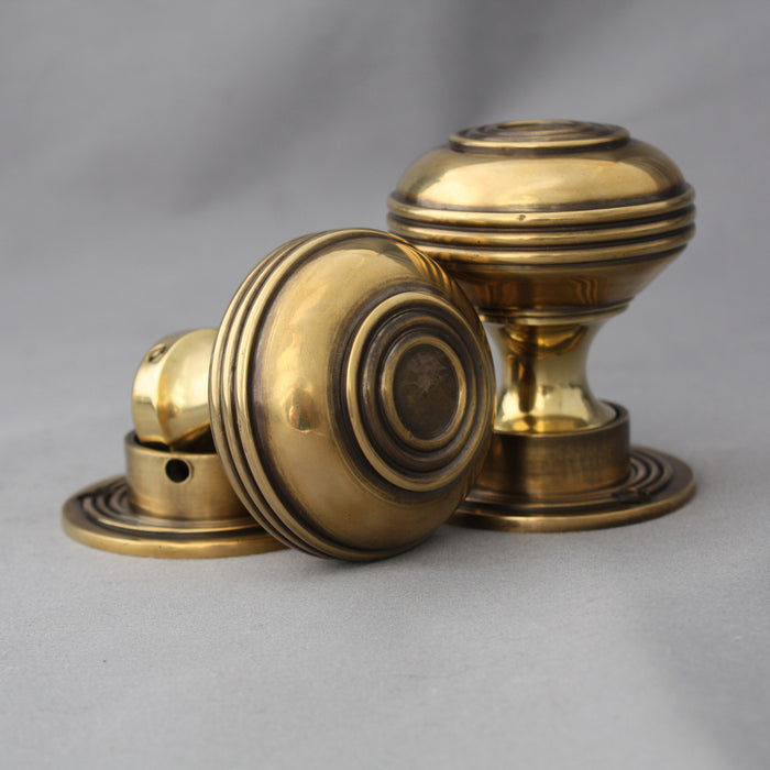 Brass Rim Latch & Handles