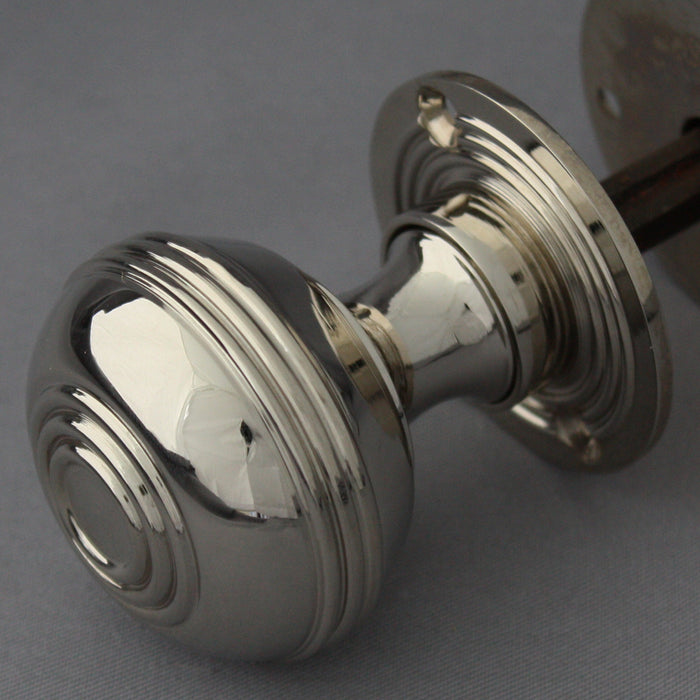 Georgian Nickel Bloxwich Door Handles