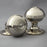 Georgian Nickel Bloxwich Door Knobs