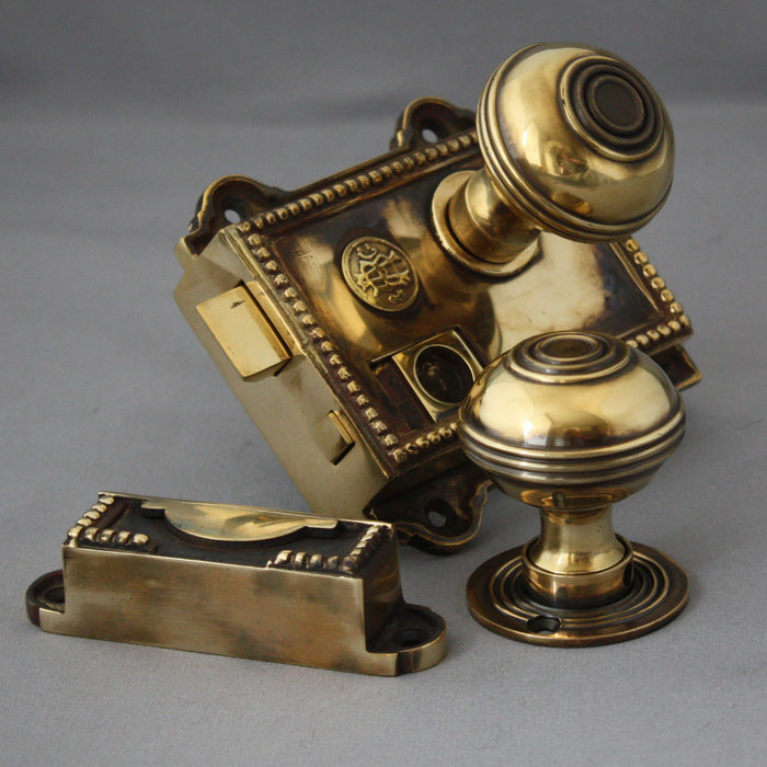 Regency Rim Latch & Handles