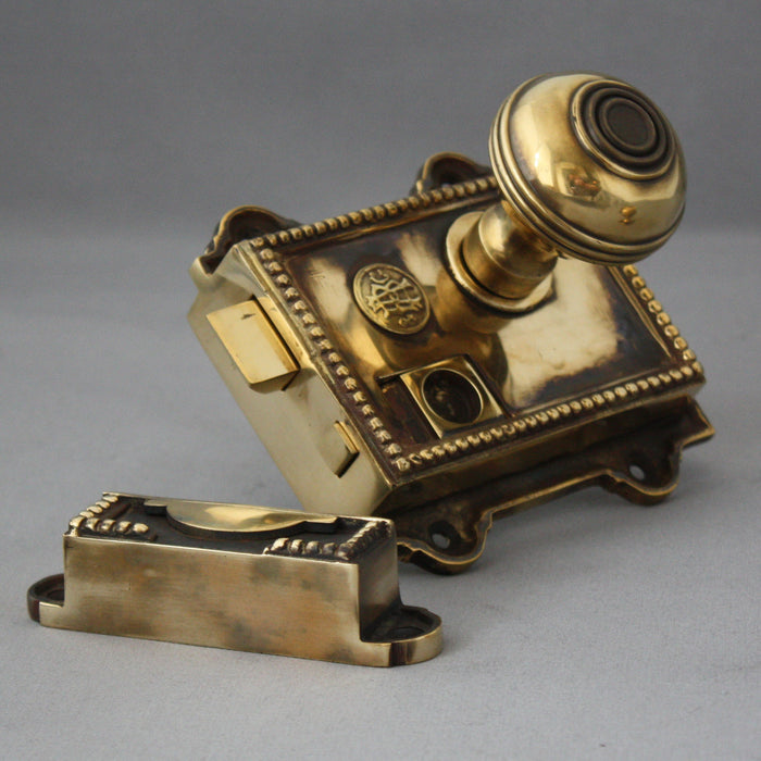 Victorian Brass Regency Rim Latch