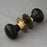 ebony period door knobs