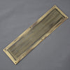 Reeded Chester Finger Plate