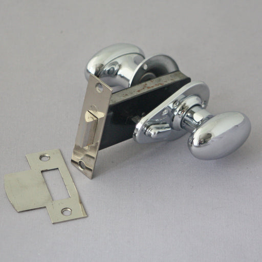 1950s Privacy Lock & Handles Set