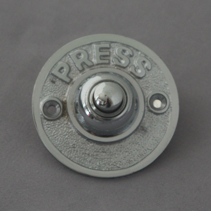 PUSH Chrome Door Bell