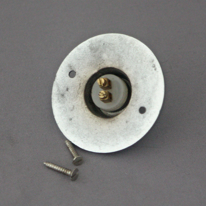 Period PUSH Chrome Door Bell