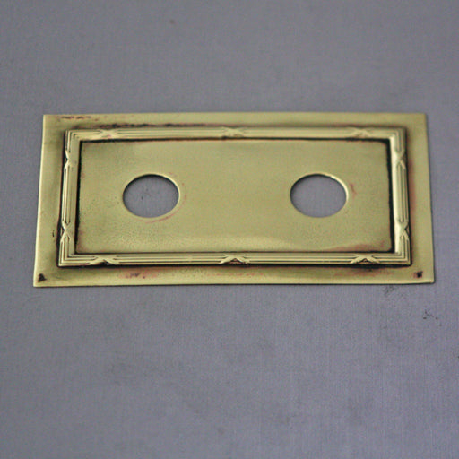 Double Edwardian Switch Plates