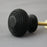 Ebony Beehive Cabinet Handle