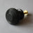Solid Ebony Beehive Cabinet Knob