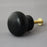 Solid Ebony Bun Cupboard Knob