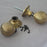Brass Large Edwardian Beehive Door Knobs