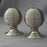 Nickel Beehive Large Door Handles