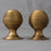 Georgian brass beehive door knobs