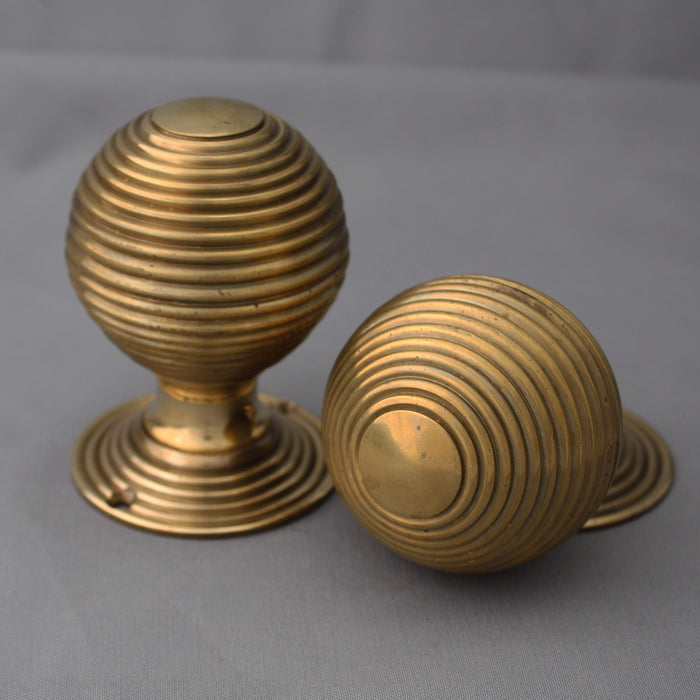Antique beehive period handles
