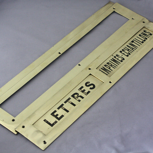 Large French Letterbox